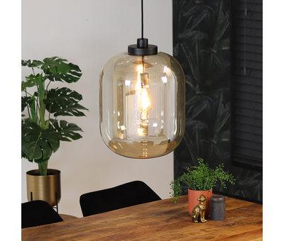 Bronx71 Hanglamp Amber 45 cm 1-lichts glas
