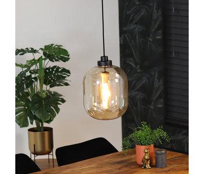 Bronx71 Hanglamp Amber 30 cm 1-lichts glas