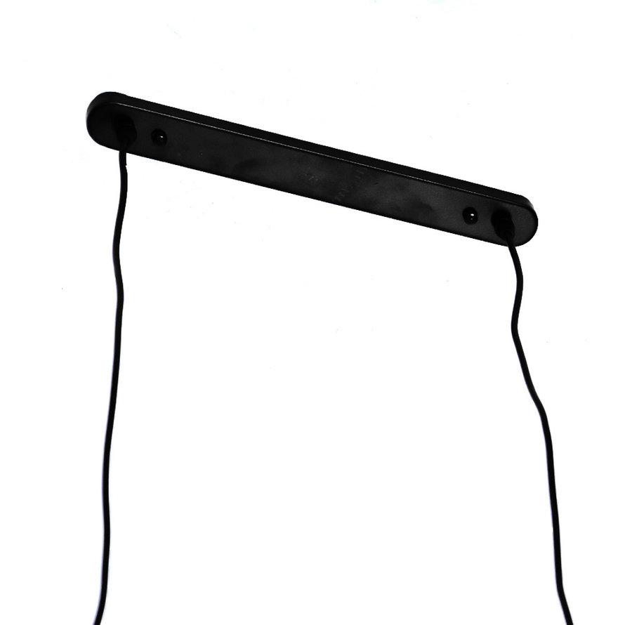Hanglamp Straight 5-lichts metaal