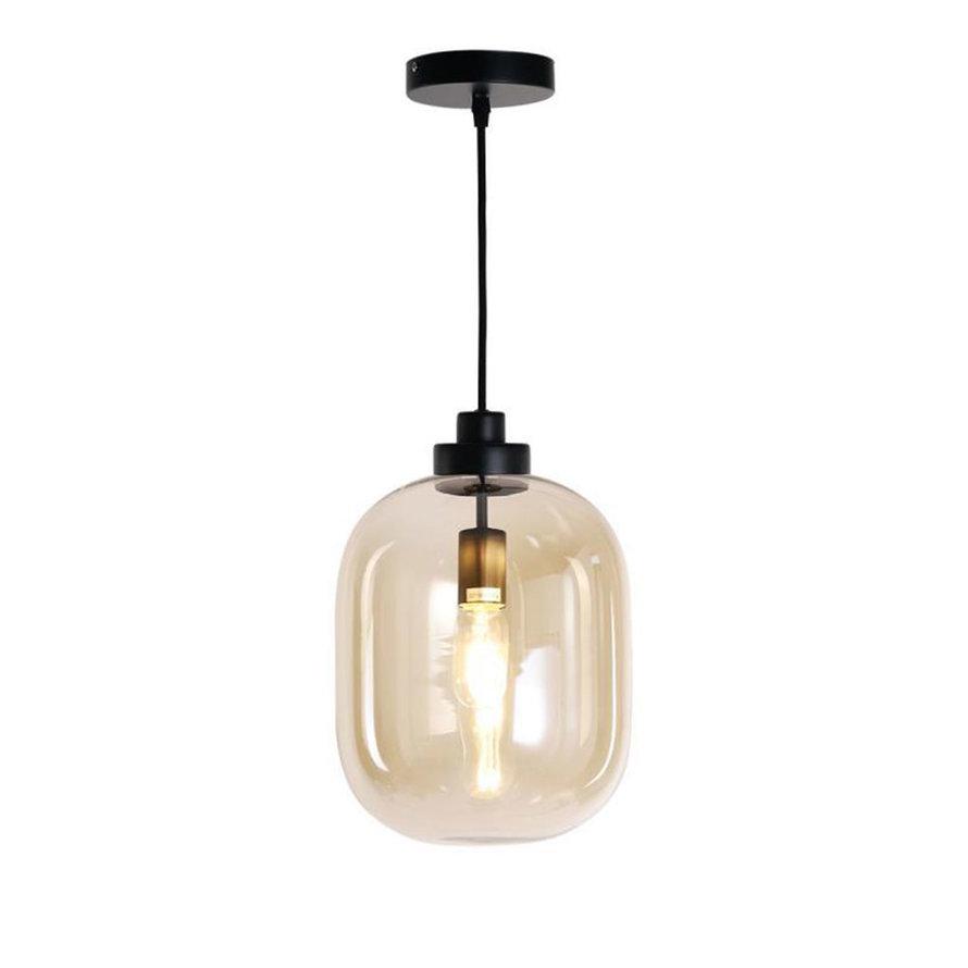 Hanglamp Amber 30 cm 1-lichts glas