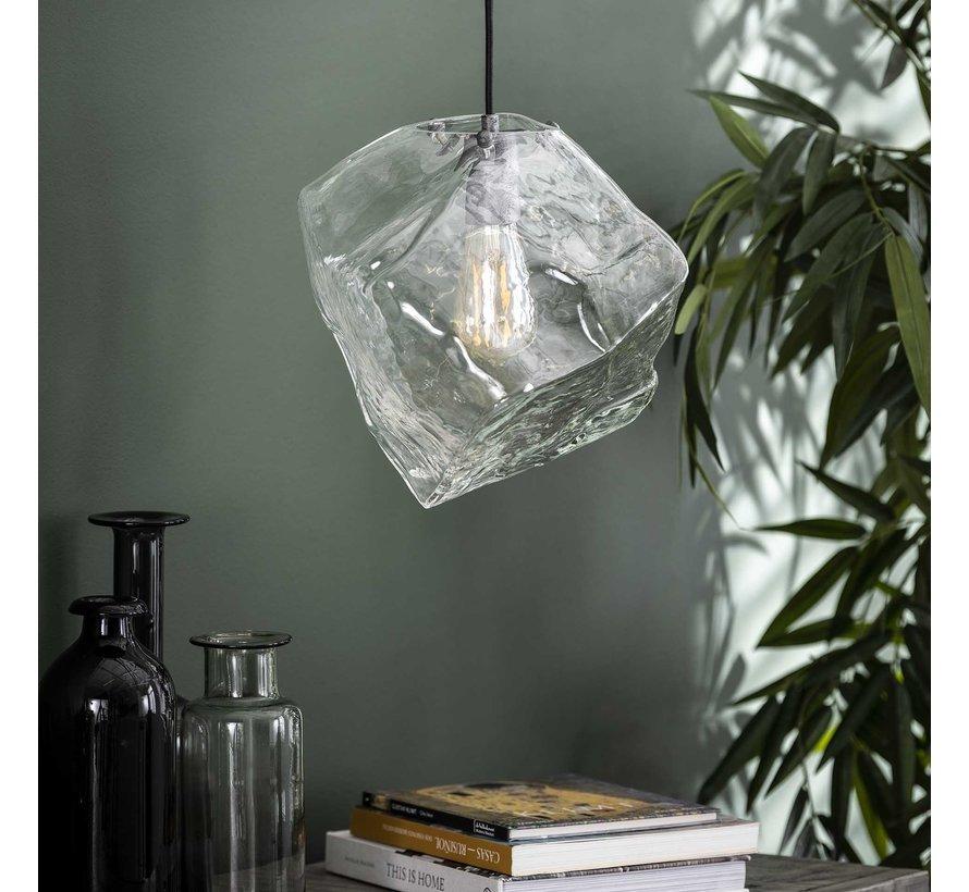Design hanglamp Toro glas 1-lichts