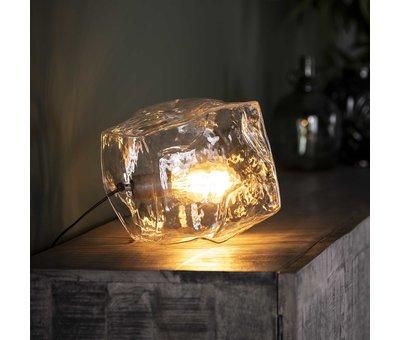 Design tafellamp Toro glas 1-lichts