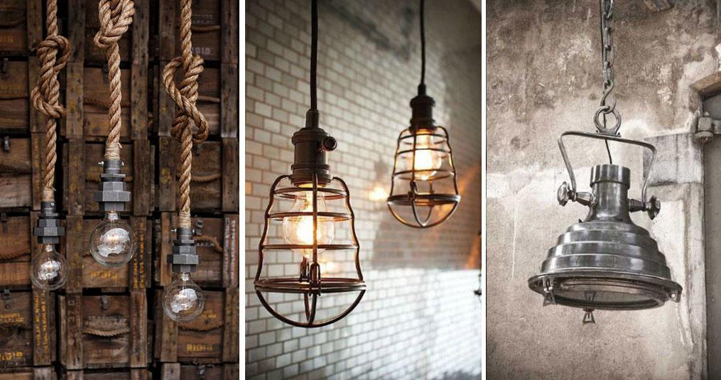 Indsutriële hanglampen