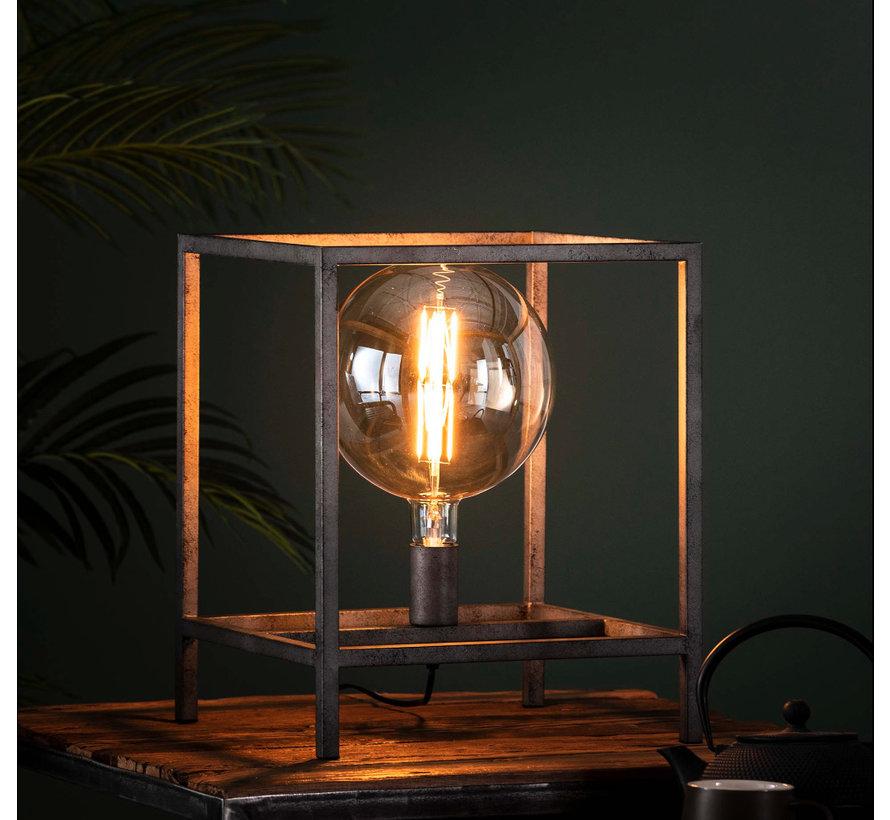 Industriële tafellamp Finley metaal