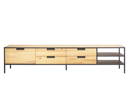 Eleonora Tv-meubel Madison Light acaciahout 210 cm