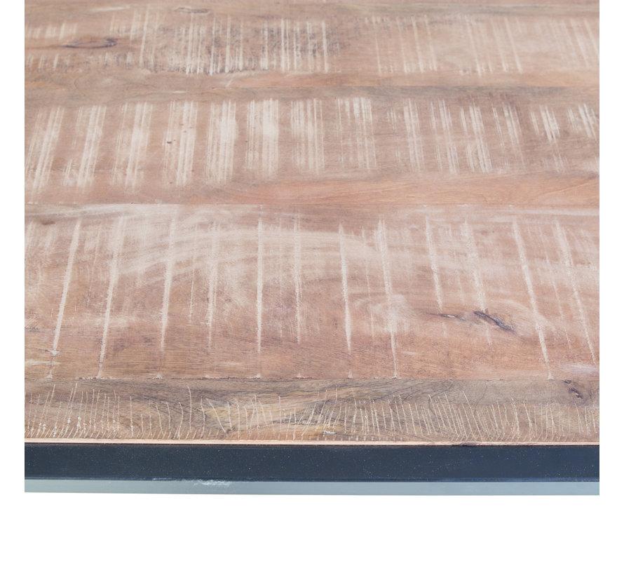 Eettafel Soho mangohout 240 x 100 cm bruin