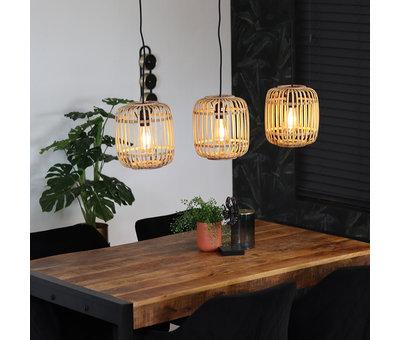 Bronx71 Moderne hanglamp James 3-lichts
