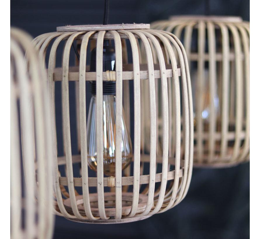 Moderne hanglamp James 3-lichts