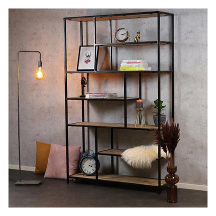 Industriële boekenkast