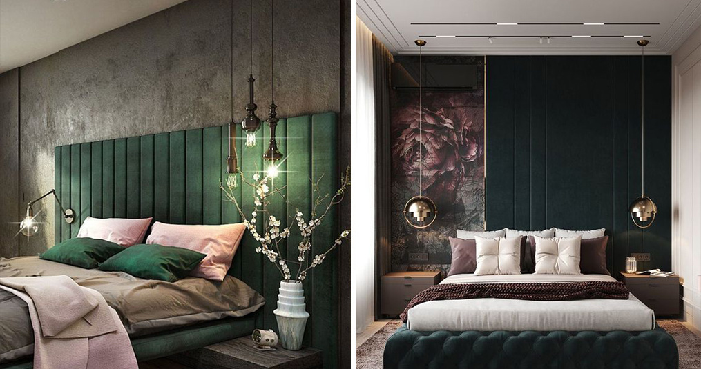 Hanglamp slaapkamer