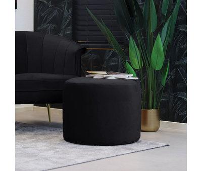 Bronx71 Velvet fauteuil Amy zwart