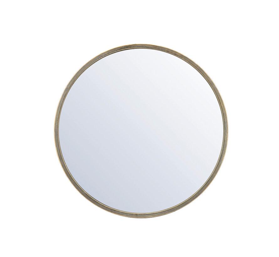 Design spiegel Ceto goud Ø80 cm metaal