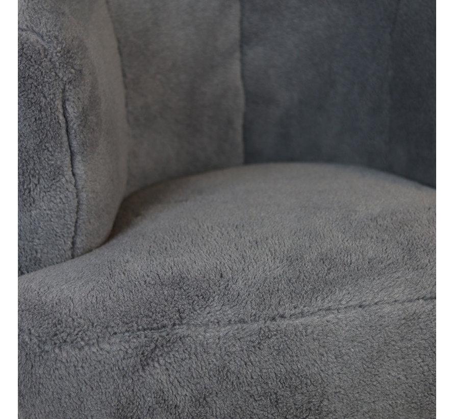 Teddy fauteuil Billy grijs