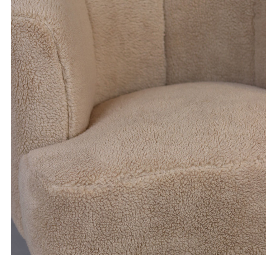 Teddy fauteuil Billy taupe