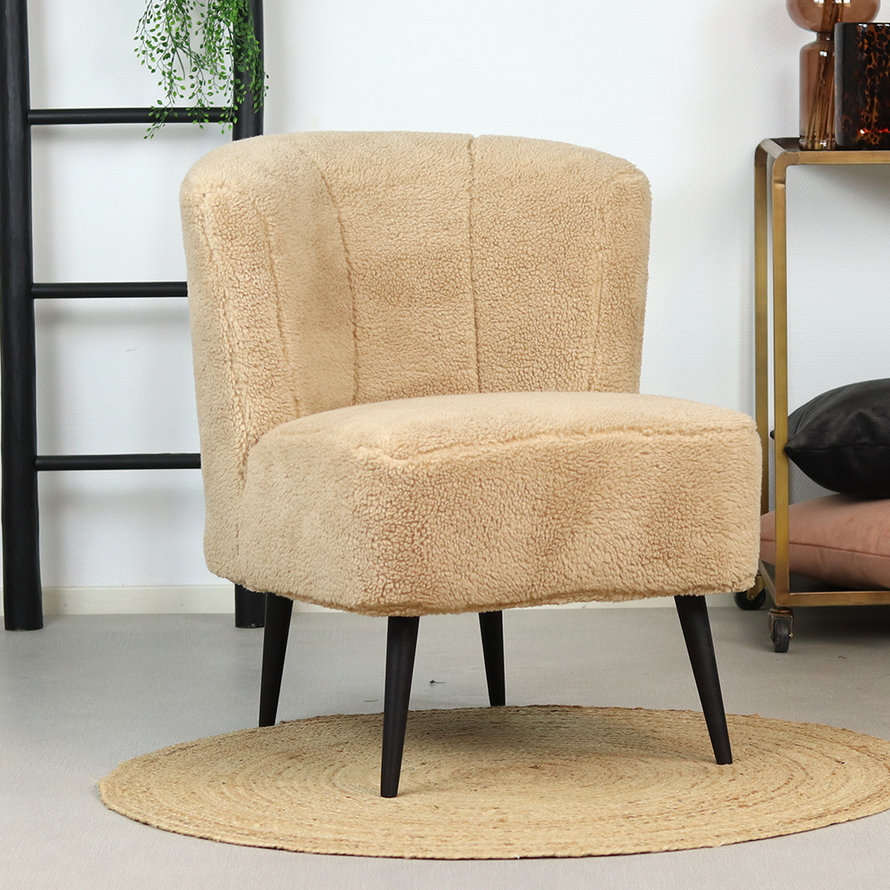 Teddy fauteuil Lyla taupe
