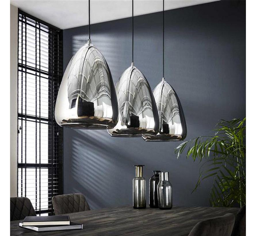 Hanglamp Madrid  glas 3-lichts
