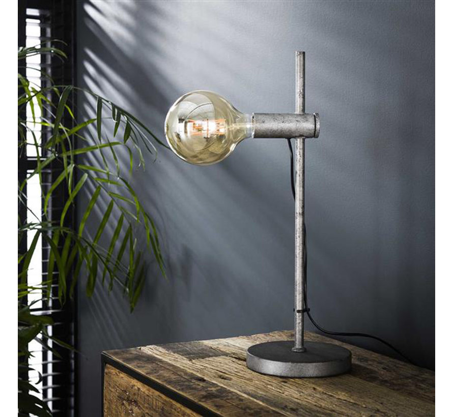 Industriële tafellamp Jade metaal 1-lichts