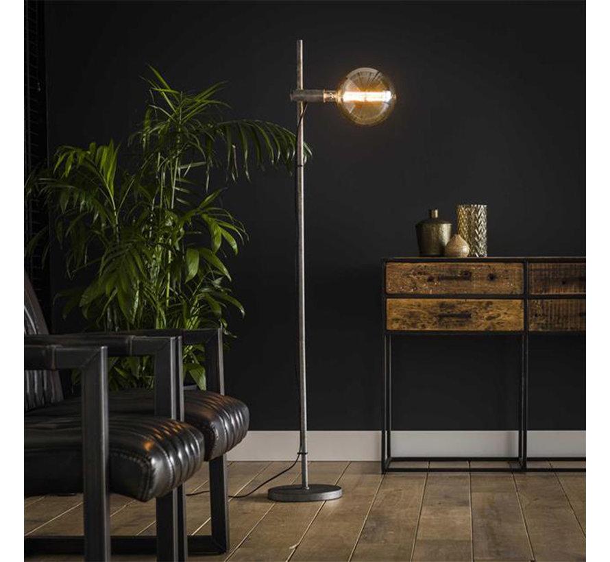 Industriële vloerlamp Jade metaal 1-lichts