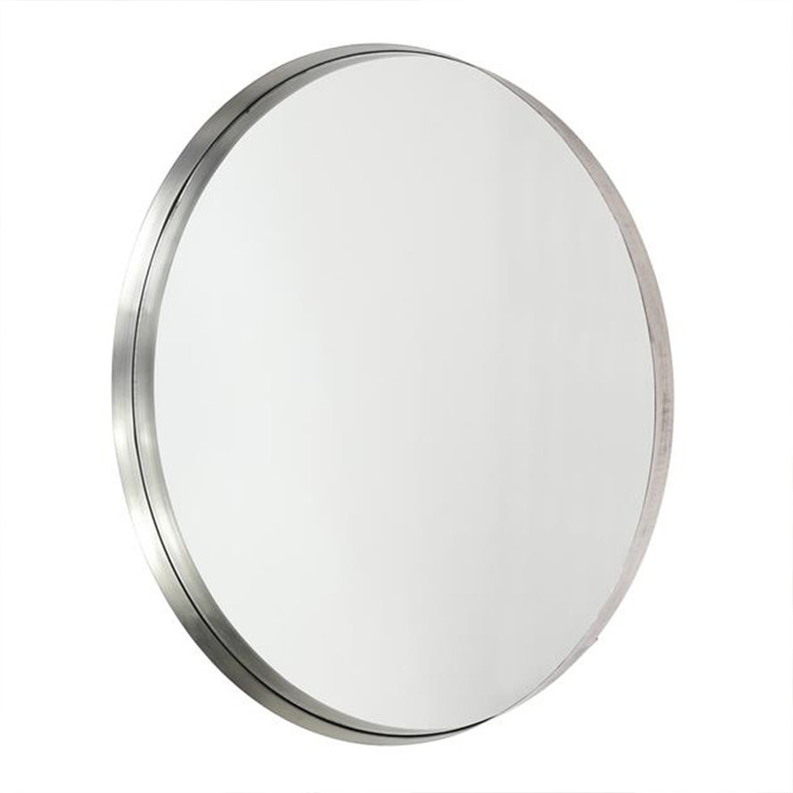 Design spiegel June rond Ø75 antiek nikkel