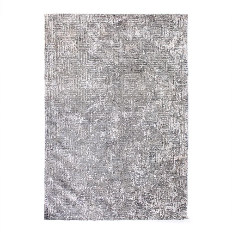 Vloerkleed Luan grijs 160x230 cm