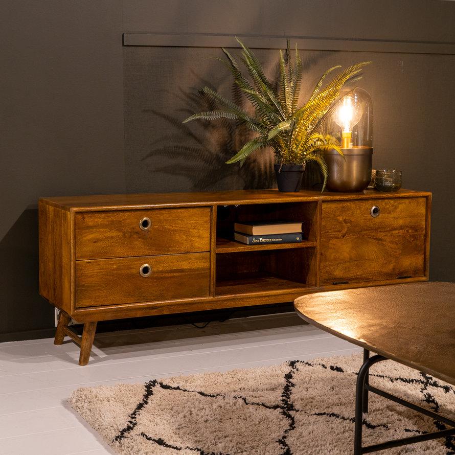 Tv-meubel Wisconsin 150 cm Mangohout