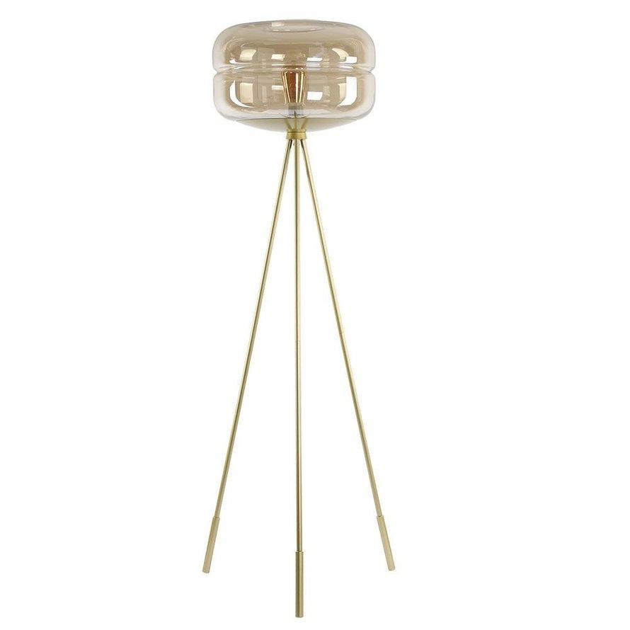 Vloerlamp Lone 1-lichts Amber