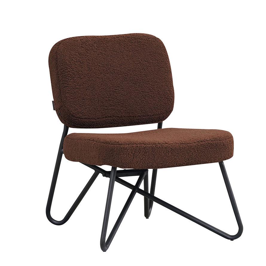 Teddy fauteuil Julia bruin