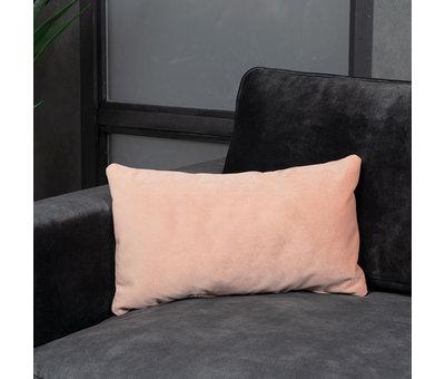 Bronx71 Sierkussen Anna velvet roze 25 x 45 cm