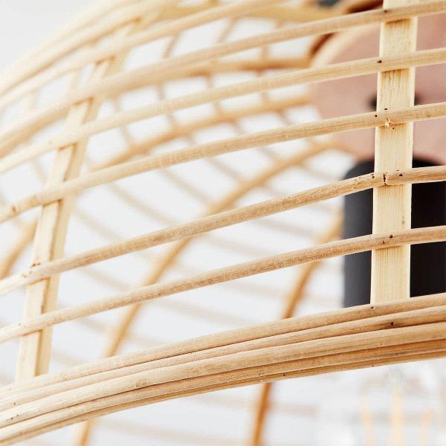 Plafondlamp Risa 57 cm bamboe