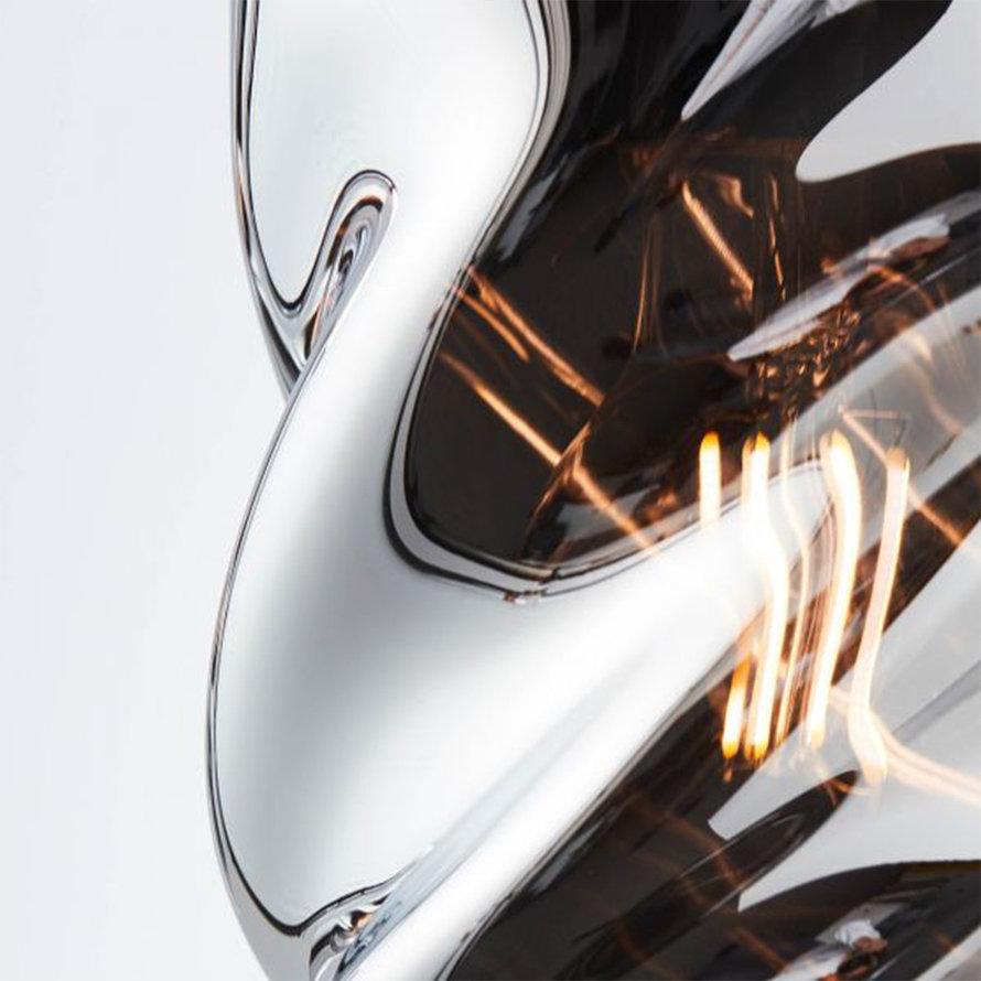 Hanglamp Spin 3-lichts chrome