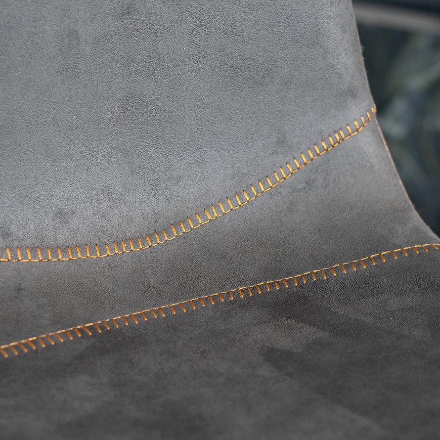 Industriële barkruk Susan antraciet 72 cm