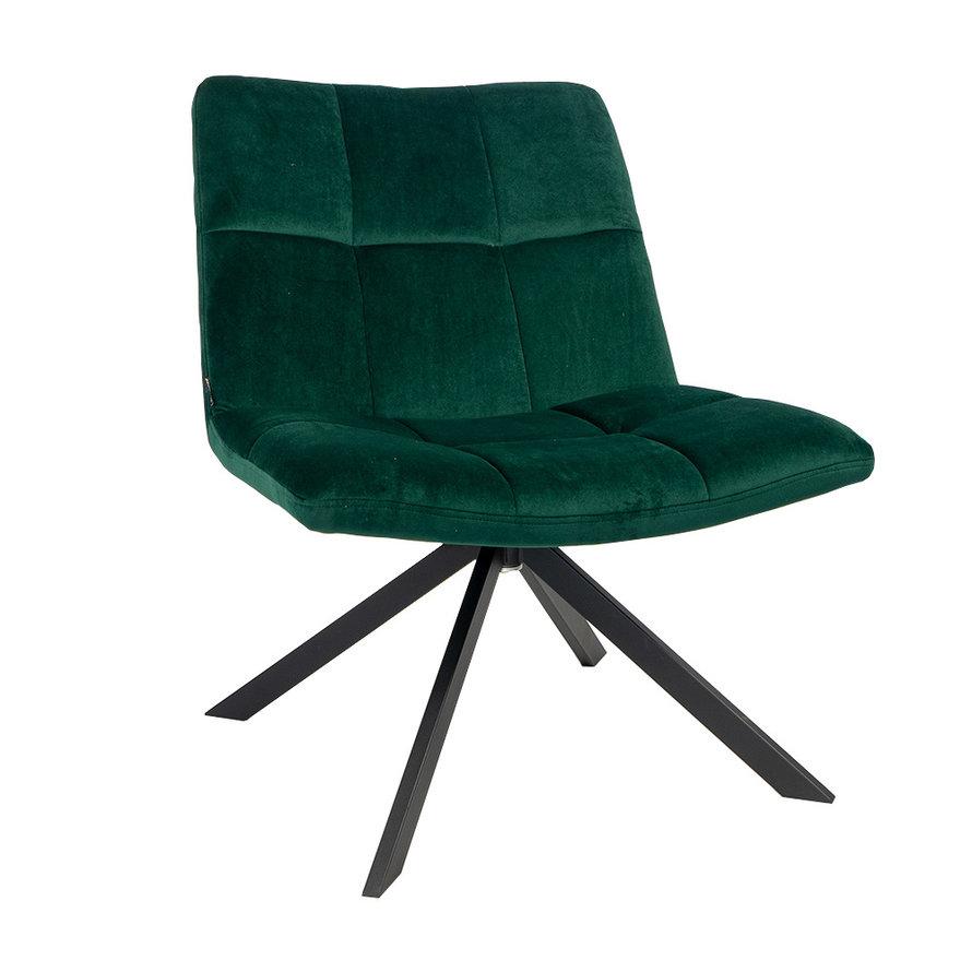 Velvet fauteuil Eevi groen