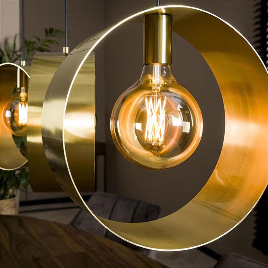 Hanglamp goud Manon metaal 3-lichts Ø30
