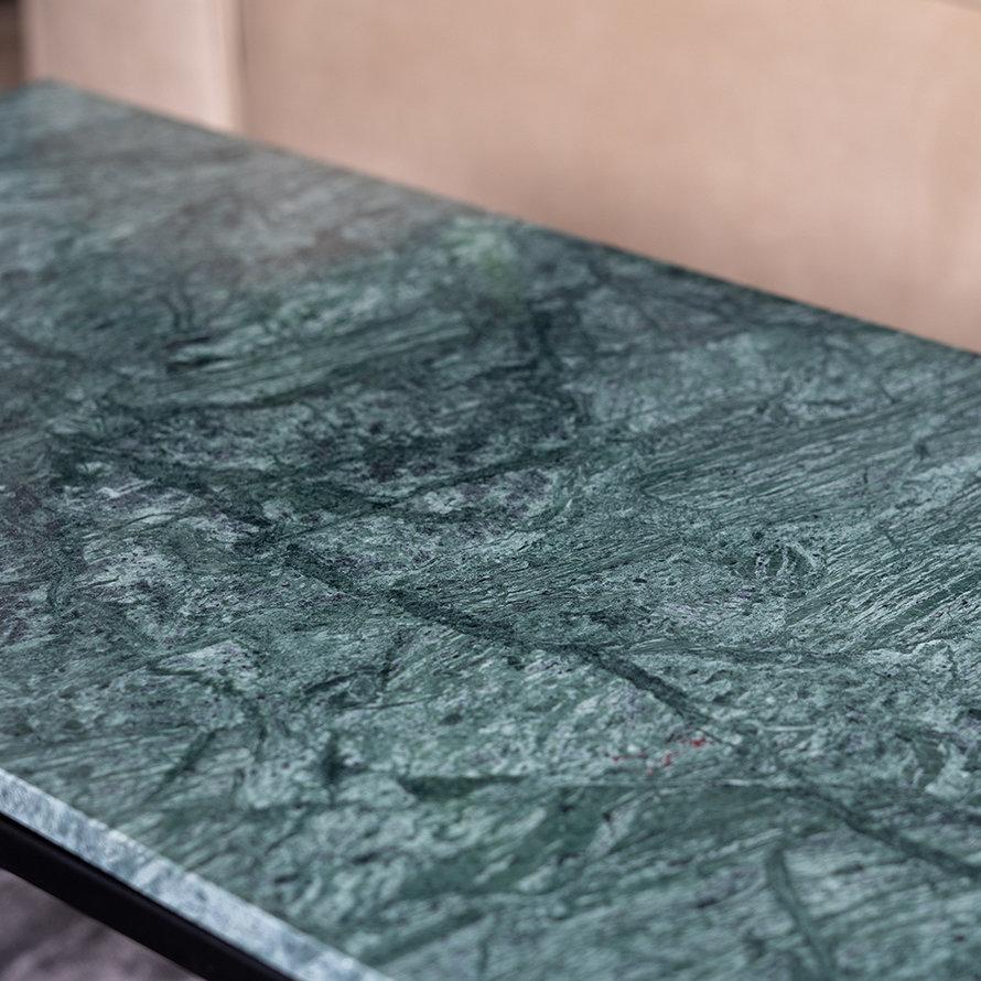 Salontafel marmer Roxy 94 x 38 cm groen