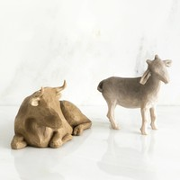 Willow Tree - Ox and Goat