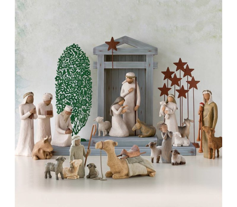 Willow Tree - Shepherd and Stable Animals