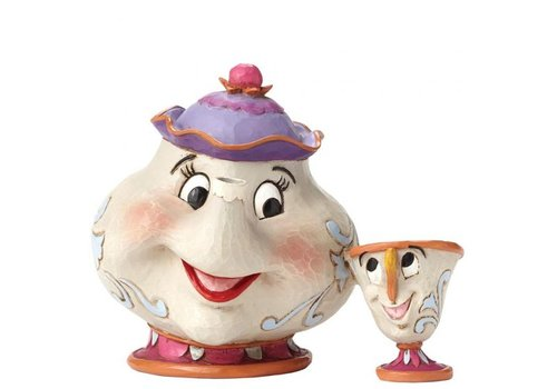 Disney Traditions A Mother's Love (Mrs Potts & Chip) - Disney Traditions