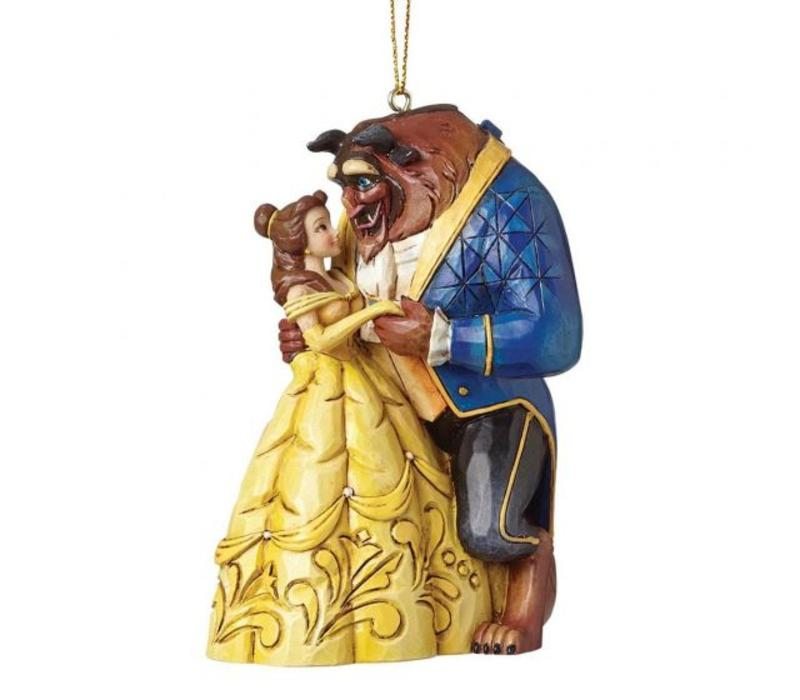 Disney Traditions - Beauty & The Beast Hanging Ornament