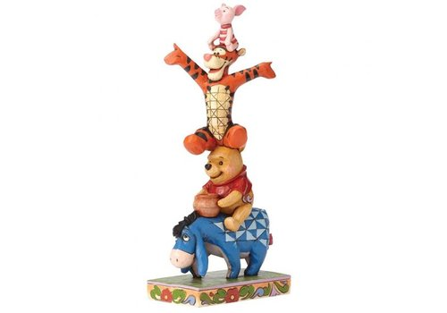 Disney Traditions Built By Friendship (Eeyore, Pooh, Tigger & Piglet) - Disney Traditions