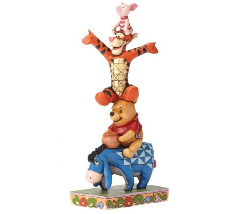Disney Traditions - Built By Friendship (Eeyore, Pooh, Tigger & Piglet)