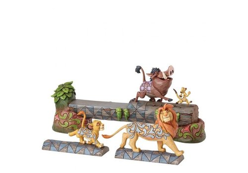 Disney Traditions Carefree Camaraderie (Simba, Timon, & Pumbaa)