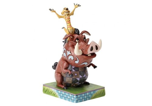 Disney Traditions Carefree Cohorts (Timon and Pumbaa)