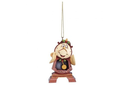 Disney Traditions Cogsworth Hanging Ornament - Disney Traditions