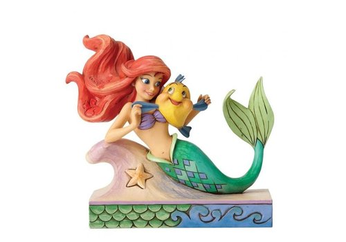 Disney Traditions Fun and Friends (Ariel with Flounder) - Disney Traditions