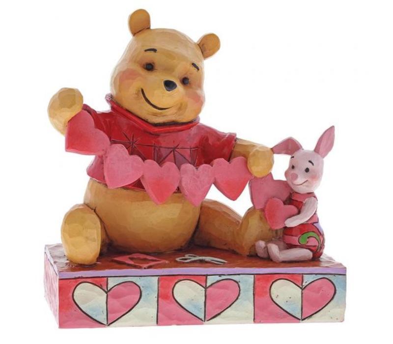 Disney Traditions - Handmade Valentines (Pooh & Piglet)