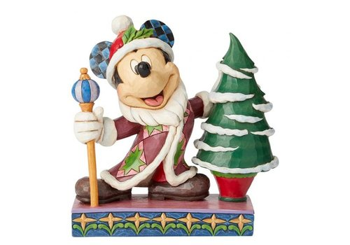 Disney Traditions Jolly Ol St Mick (Mickey Mouse Father Christmas) - Disney Traditions