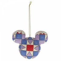 Disney Traditions - Mickey Mouse Head Hanging Ornament Set