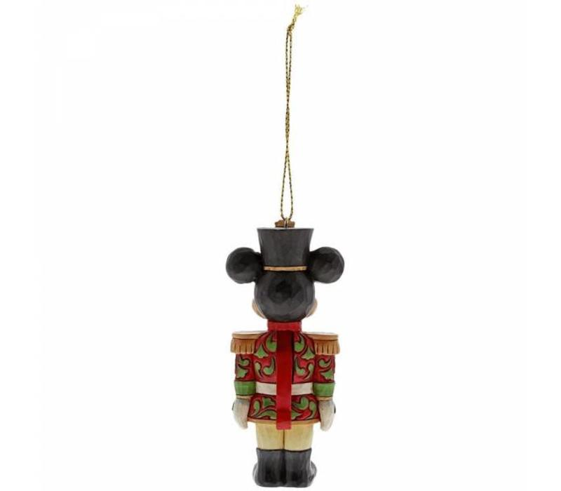 Disney Traditions - Mickey Mouse Nutcracker Hanging Ornament