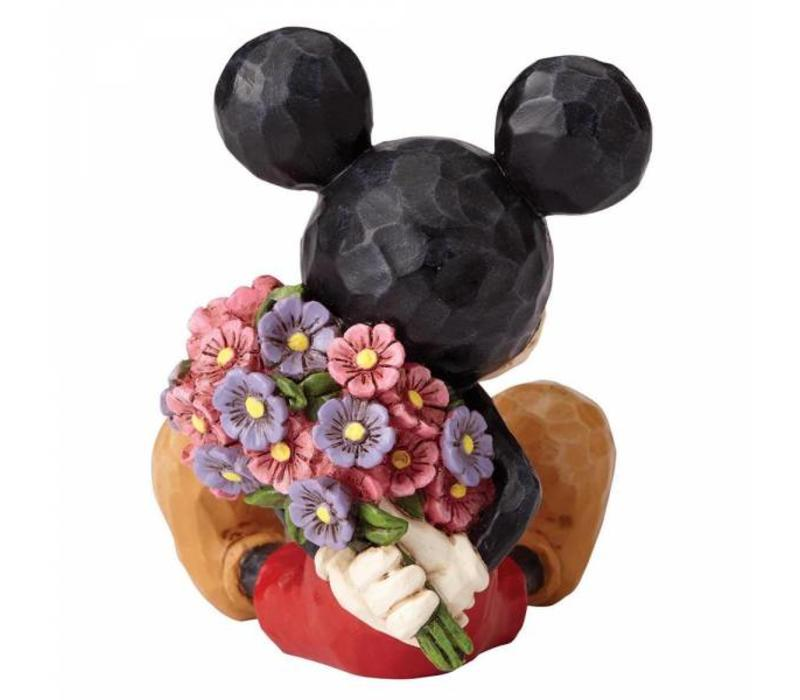 Disney Traditions - Mickey Mouse with Flowers Mini