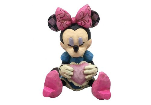 Disney Traditions Minnie Mouse with Heart Mini
